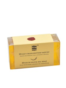 Olive oil soap with pure lavanda oil from Hvar 100 g