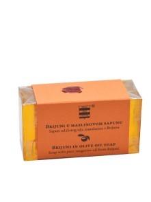 Olive oil soap with pure mandarin oil from Brijuni 100 g