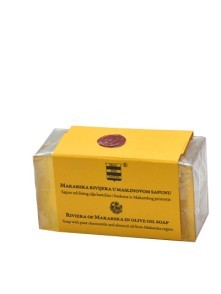 Olive oil soap with pure chamomile and almond oil from Makarska 100 g