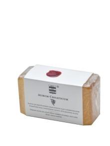 Virgine olive oil soap with 23 kt. gold leaves Aurum Croaticum  100 g