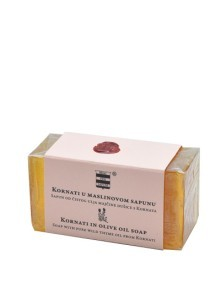 Olive oil soap with pure thyme oil from Kornati 100 g