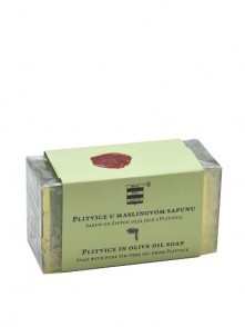 Olive oil soap with pure fir oil from Plitvice 100 g