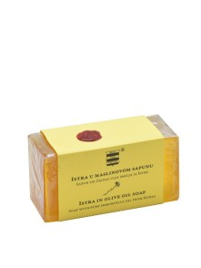 Olive oil soap with pure immortelle oil from Istra 100 g