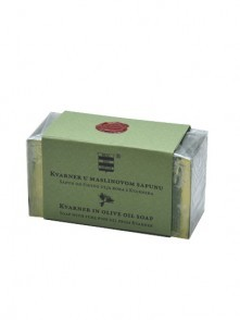 Olive oil soap with pure pine oil from  Kvarner 100 g