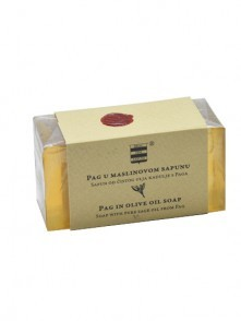 Olive oil soap with pure sage oil from Pag 100 g
