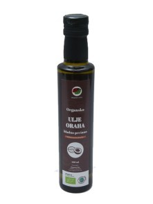 Walnut oil, organic cold pressed BIO 250 ml Organica Vita