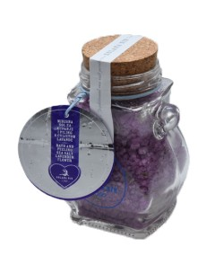 Scented bath and peeling sea salts with lavander zest 300 g