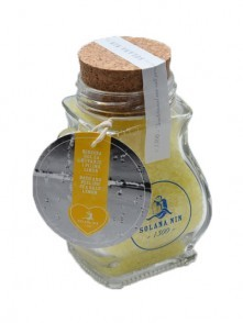 Scented bath and peeling sea salt with lemon zest 300 g