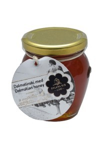 Dalmatian honey with flower of salt 245 g